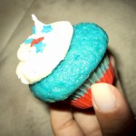 Red, White & Blue Cupcake by Sweetness Bake Shop & Cafe
