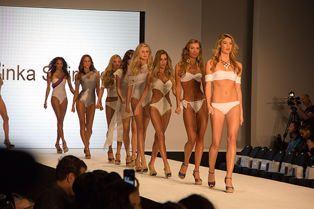 Minka Swimwear Last Walks - Miami Beach International Fashion Week 2012