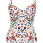 Mara Hoffman Techno Animal printed swimsuit