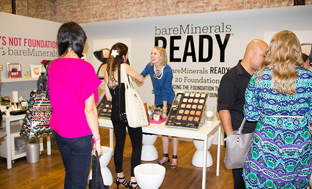 Bare Minerals at IFB Con