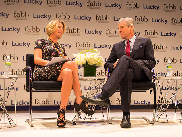 Brandon Holley, Terry Lundgren, Macy's CEO, Lucky FABB New York City