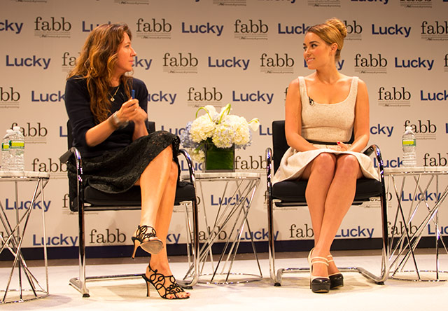 Jean Godfrey-June of Lucky Magazine interviews Lauren Conrad