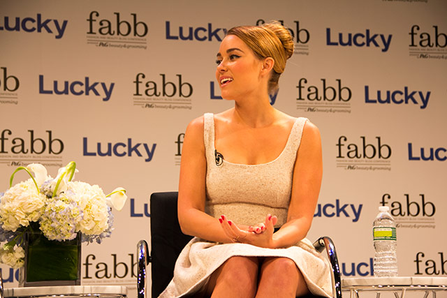 Lauren Conrad at Lucky FABB