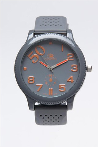 Zunammy Grey Case Watch on JackThreads