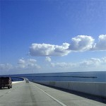 Driving into Clearwater