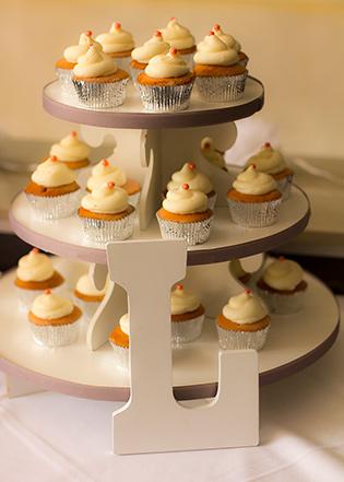 L Cupcake Tower