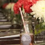 Milk Bottle Mimosas & Flowers