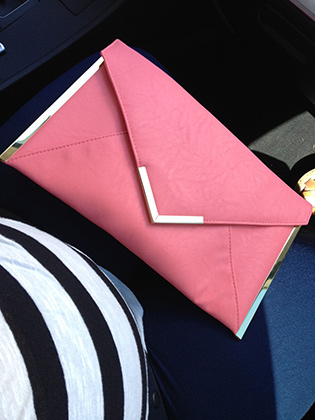 Envelope Clutch from ASOS