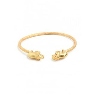 BaubleBar Julie Vos Gold Elephant Bangle