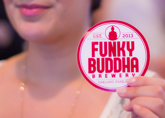 At the Funky Buddha Brewery Grand Opening