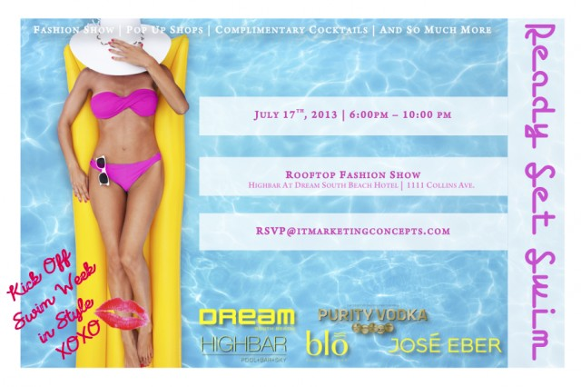 Ready Set Swim - Miami Swim Week Events Open to the Public