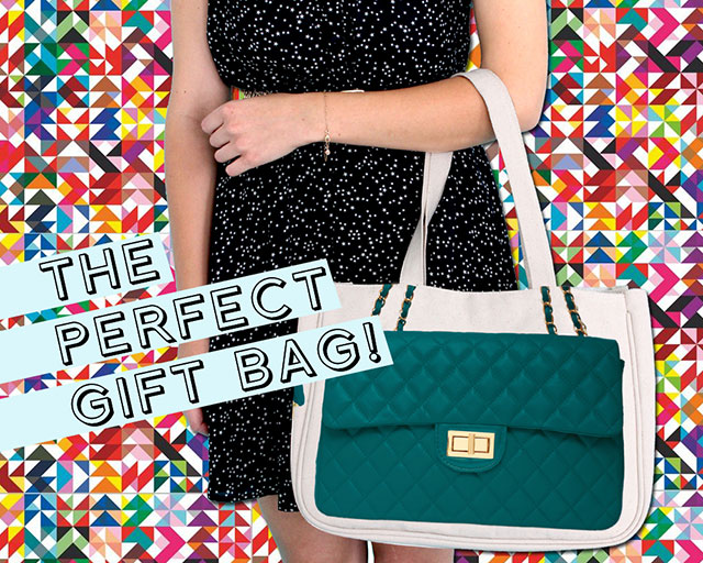 Thursday Friday Diamonds Together bag in Teal | 30% OFF Discount Code