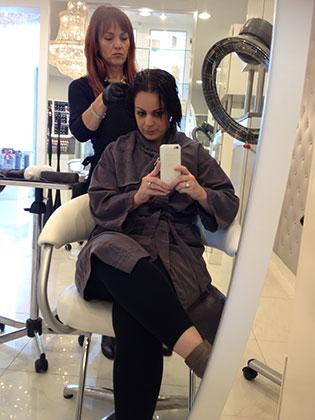 Cezanne Hair Treatment   Bubbles & Ink Blog