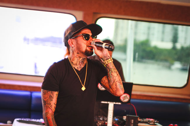 David Correy Performs at Bonefish Grill Menu Launch Event in Miami Beach