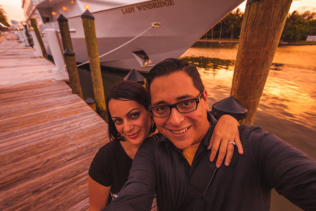 Alicia Palma and Tony Espinoza