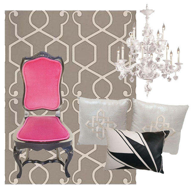 Chairish-Pink-Chair-Collage