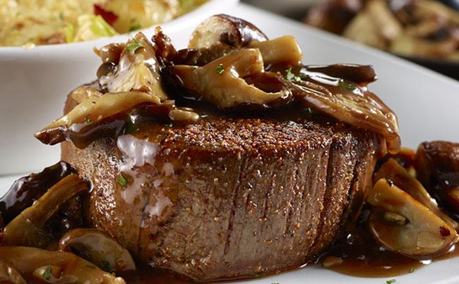 Harvest Mushroom Filet LongHorn Steakhouse