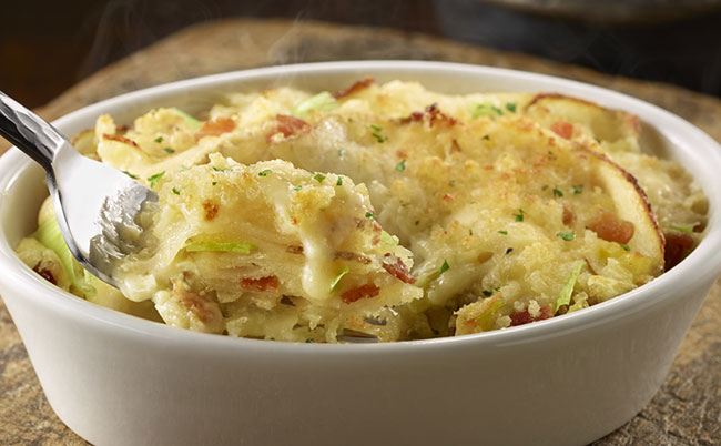 Potato Leek Gratin LongHorn Steakhouse