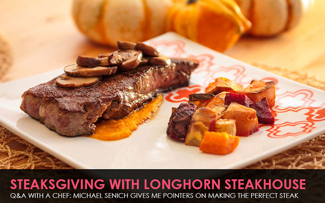 Longhorn-Steakhouse-Steaksgiving with Exec Chef Michael Senich