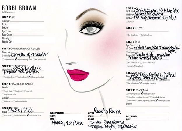 Bobbi Brown Holiday Makeup Look Step by Step Guide How To