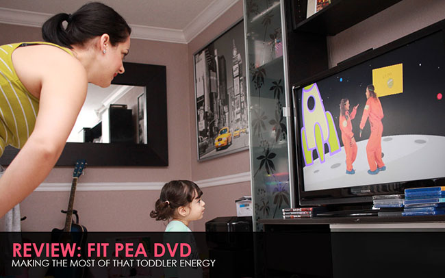 Fit Pea DVD Review