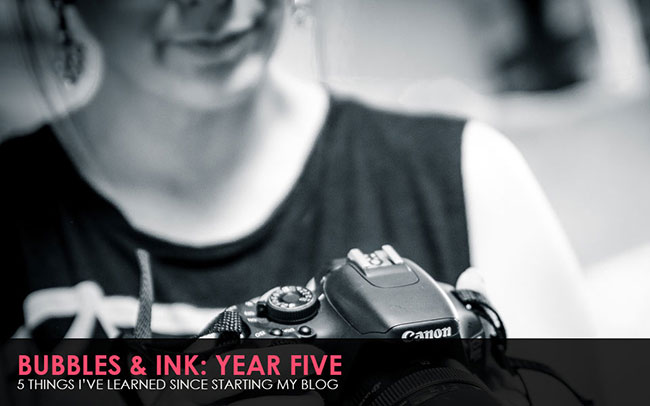 Bubbles & Ink 5 Year Anniversary