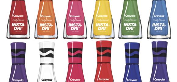 Crayola Insta-Dri Collection with Sally Hansen