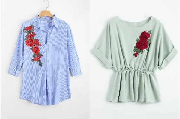 Floral Blouses Zaful