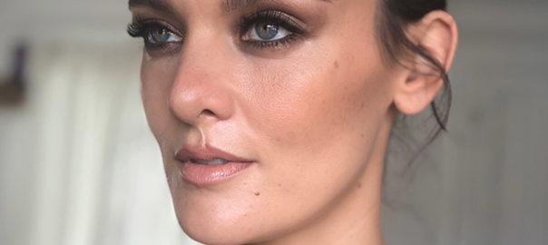 Frankie Shaw bareMinerals Golden Globe 2018 Makeup Tutorial by Jo Baker