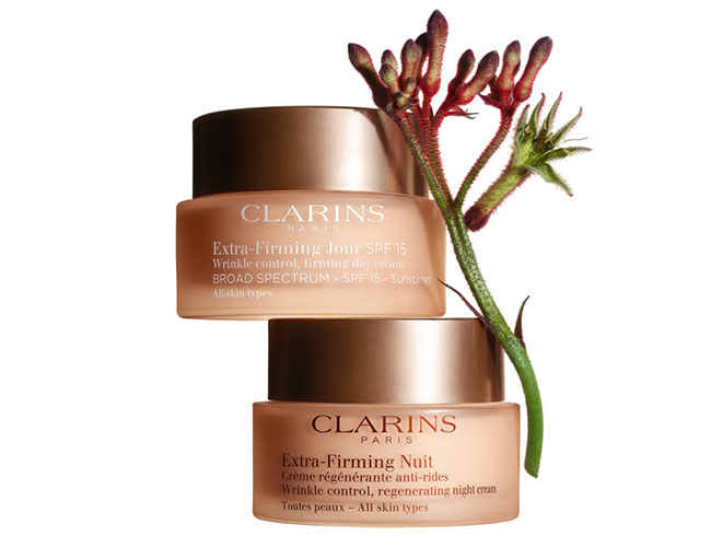 NEW Clarins Extra-Firming Day&Night Cream Duo - Kangaroo Plant Extract