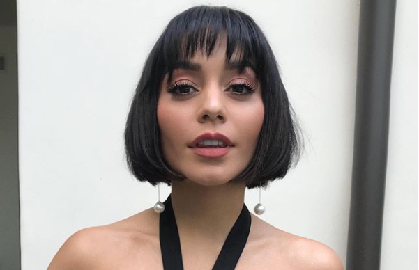 Vanessa hudgens 2018 hair