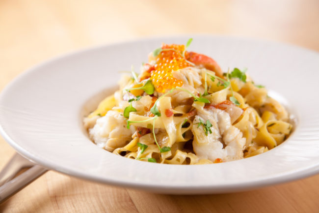 Shrimp Linguini Recipe by Seaspice Executive Chef Angel Leon