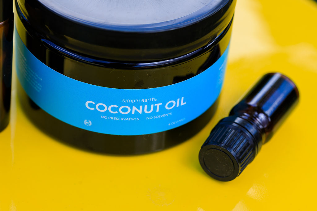 Simply Earth Coconut Oil